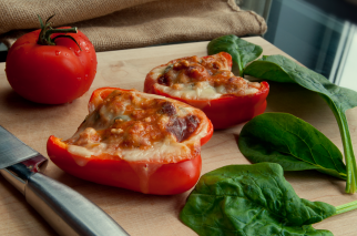 Italian Stuffed Peppers (Gluten Free)